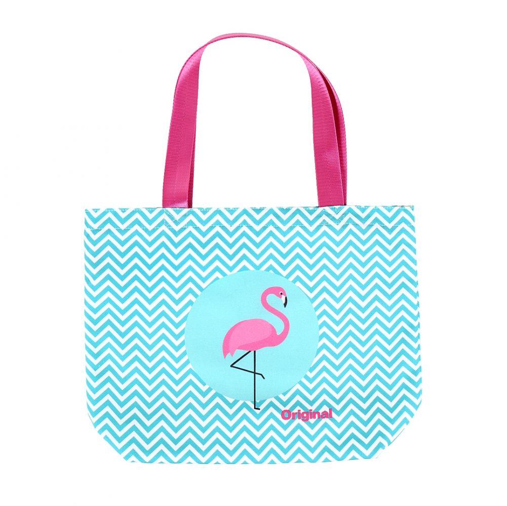 Plátěná taška - Plameňák