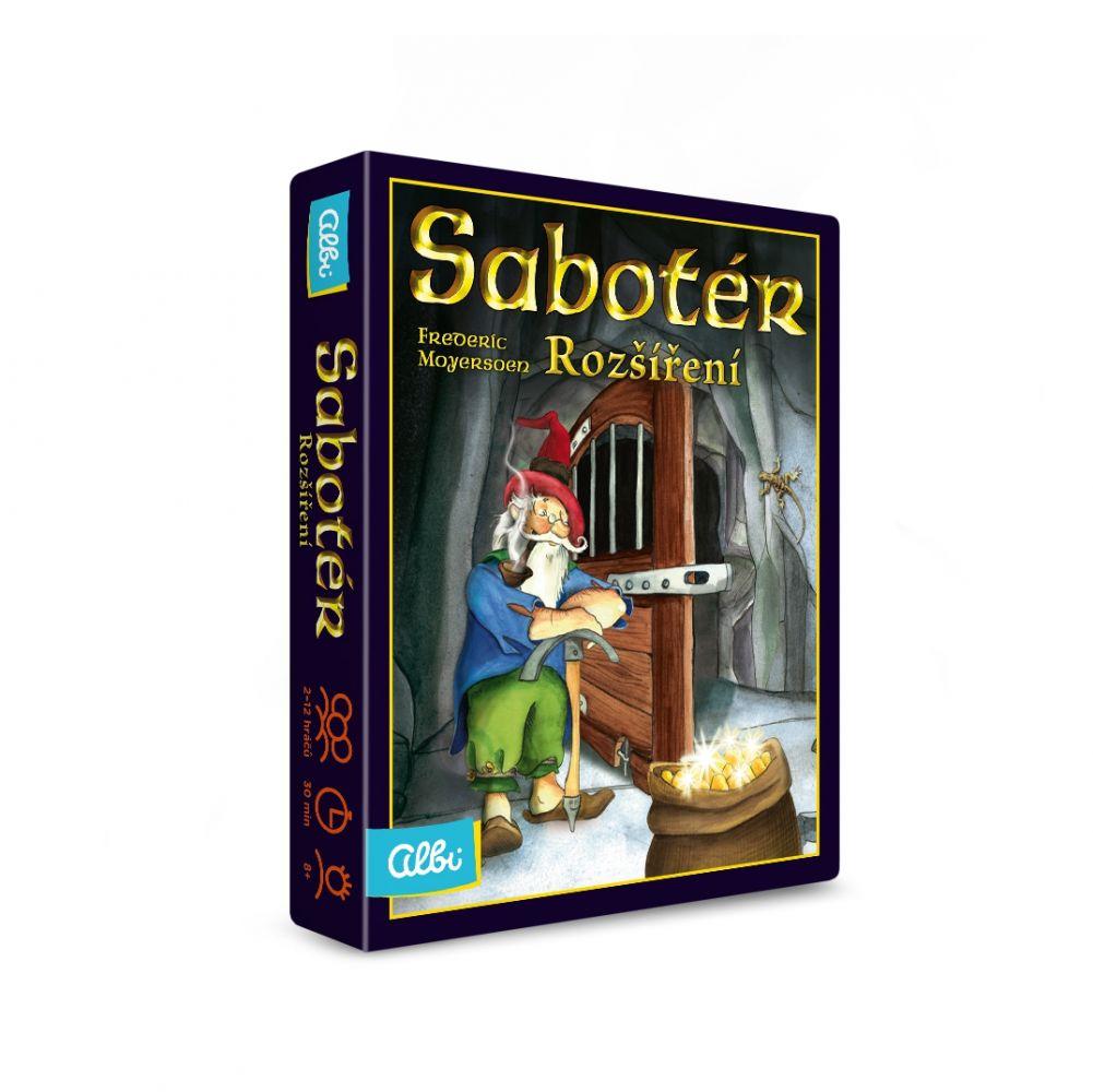 Sabotér - rozšíření