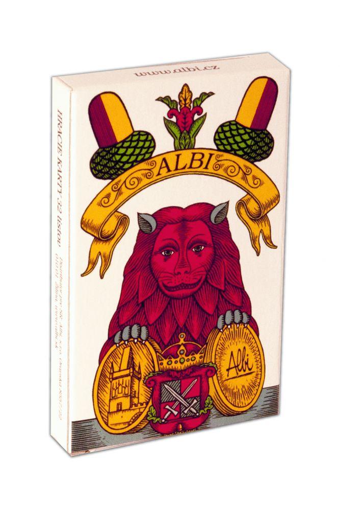 Mariáš jednohlavé hrací karty