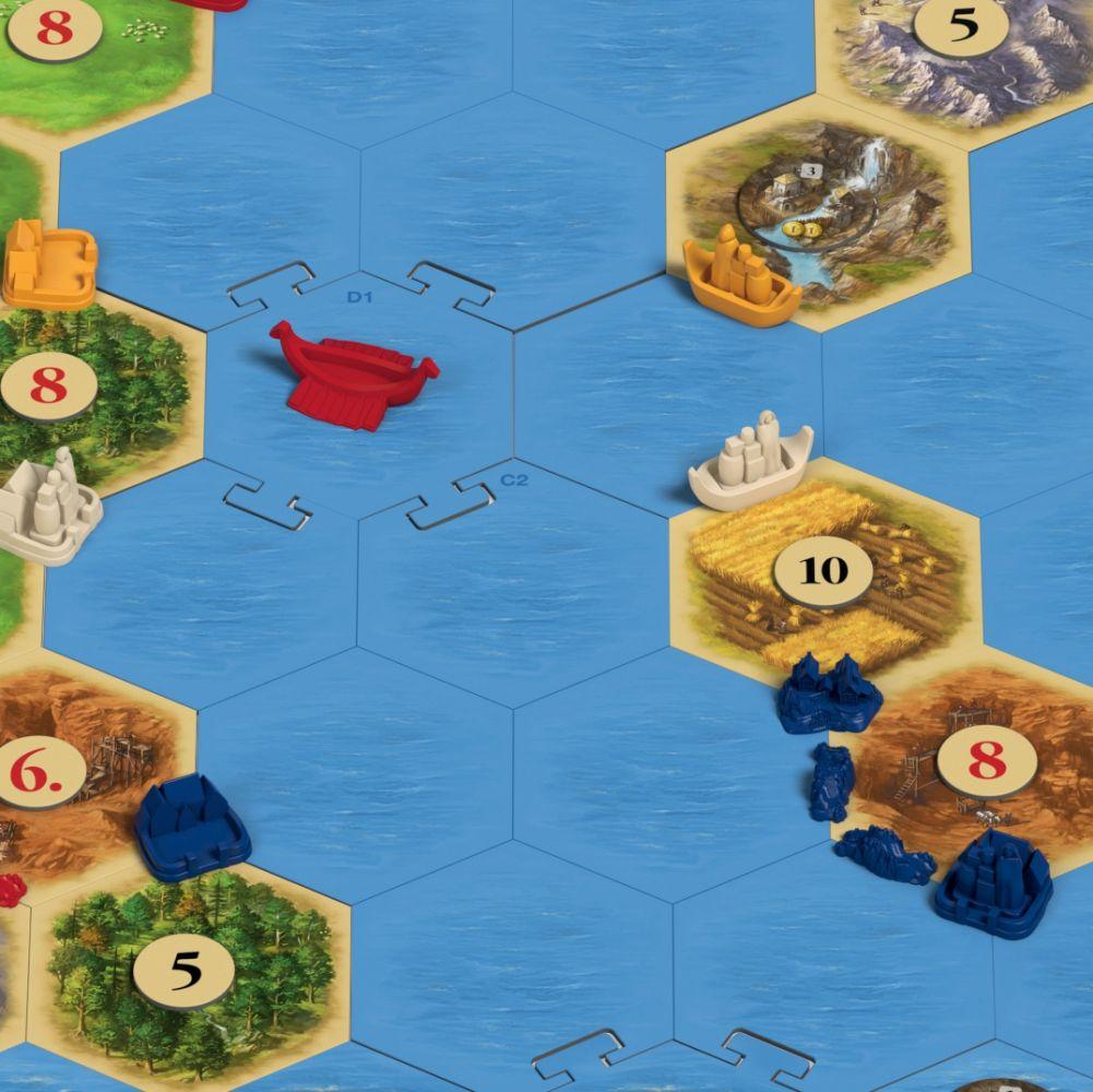 Catan - Zámořské objevy