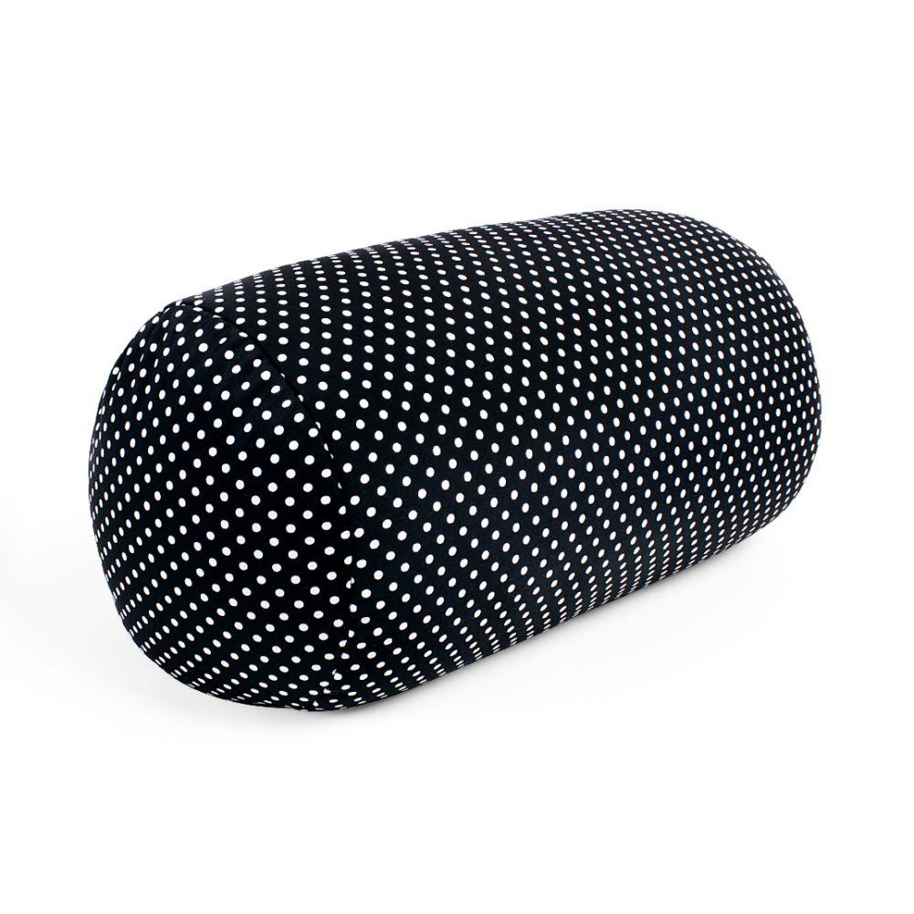 - Relaxační polštář - Bílé puntíky